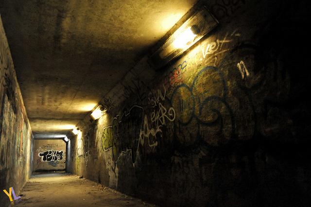 le-tunnel-qui-fait-peur-quand-on-est-gamin, par Yohann Legrand