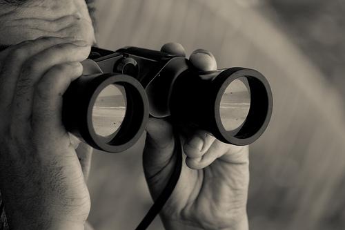 binoculars, par Edith Soto