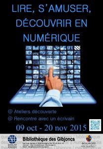 affiche numérique